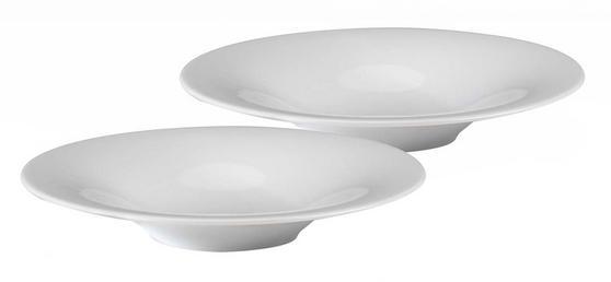Alessi 1109402 Starter Soup, Salad, Dessert Bowl, 22.5 cm, Set of 2