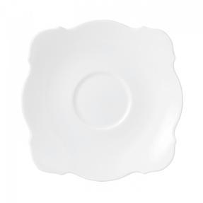 Wedgwood 5C104906930 Jasper Conran Baroque White Saucer