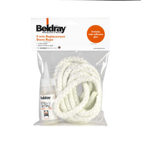 Beldray EH1500BQ 9 mm Replacement Stove Rope Kit with Glue Thumbnail 2
