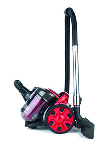 Prolectrix Compact Cylinder Vac, 2 Litre, 1000 W, Red