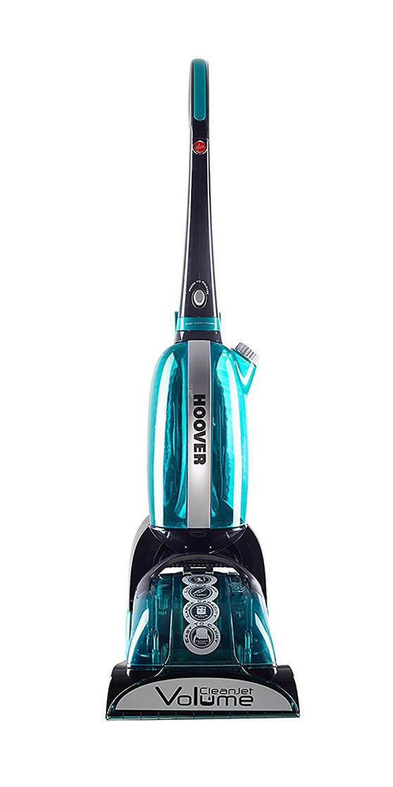 Hoover CleanJet Volume Carpet Cleaner, 600W, 4.5 Litre, Black/Turquoise