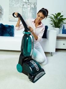 Hoover CleanJet Volume Carpet Cleaner, 600W, 4.5 Litre, Black/Turquoise Thumbnail 4
