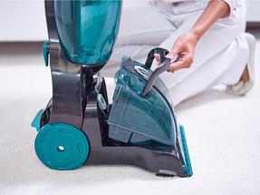 Hoover CleanJet Volume Carpet Cleaner, 600W, 4.5 Litre, Black/Turquoise Thumbnail 5