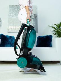 Hoover CleanJet Volume Carpet Cleaner, 600W, 4.5 Litre, Black/Turquoise Thumbnail 6