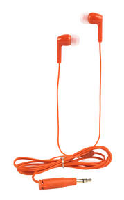 Intempo Buddy Buds Earphones, Orange Thumbnail 1