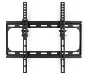 "Intempo Adjustable Wall Mounted TV Bracket, 32"" - 55"", Tilt Function, Fixings Included, 40kg Weight Capacity, Steel, Black"