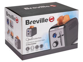 Breville Opula Collection 2-Slice Toaster, Moonstone, Stainless Steel Thumbnail 7