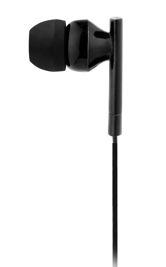 Intempo Metallic Look Bluetooth Earphones, Black