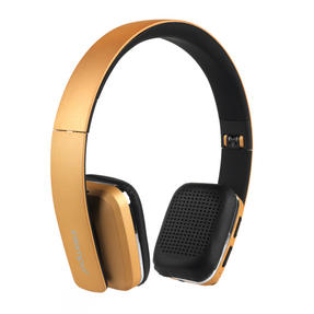 Intempo Bluetooth Wireless Headphones, Gold