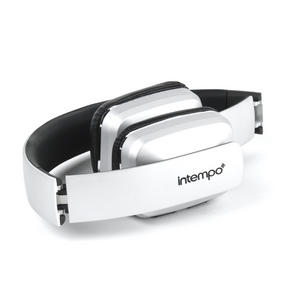 Intempo Bluetooth Wireless Headphones, Silver Thumbnail 3