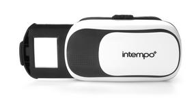Intempo Capture 3D Virtual Reality Headset for Smartphone, White