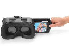 Intempo Capture 3D Virtual Reality Headset for Smartphone, White Thumbnail 4