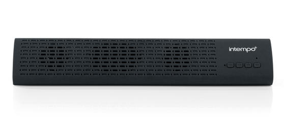 Intempo Mini Bluetooth Sound Bar, Black