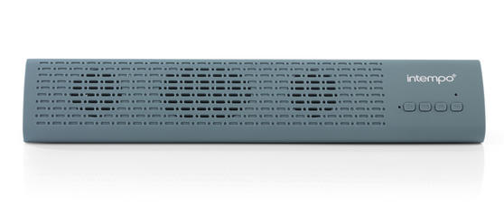 Intempo Mini Bluetooth Sound Bar, Blue