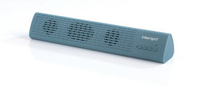 Intempo Mini Bluetooth Sound Bar, Blue Thumbnail 2