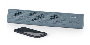 Intempo Mini Bluetooth Sound Bar, Blue Thumbnail 3
