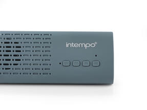 Intempo Mini Bluetooth Sound Bar, Blue Thumbnail 5