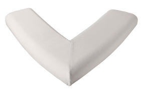 Dreamtime Large Orthopaedic Memory Foam V-Shaped Pillow, White