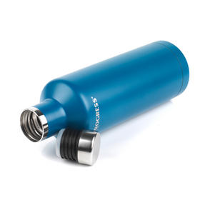 Progress BW05856B Thermal Insulated Travel Bottle with Screw Top Lid, 500 ml, Stainless Steel, Blue Thumbnail 4