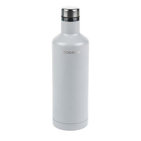 Progress BW05856S Thermal Insulated Travel Bottle with Screw Top Lid, 500 ml, Stainless Steel, Grey Thumbnail 2