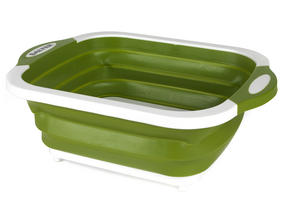 Salter 2 in 1 Collapsible Chopping Board and Colander Thumbnail 1