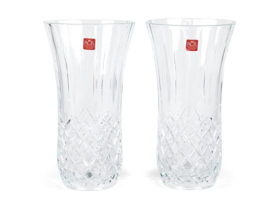 RCR Opera Crystal Glass Vase, 190 ml, Set of 2