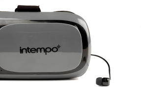 Intempo Bluetooth 3D Virtual Reality Headset with Earbuds Thumbnail 3