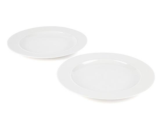 Alessi La Bella Tavola Porcelain Dinner Plates, 27cm, Set of 2