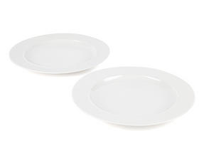 Alessi La Bella Tavola Porcelain Dinner Plates, 27cm, Set of 2 Thumbnail 1