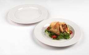 Alessi La Bella Tavola Porcelain Dinner Plates, 27cm, Set of 2 Thumbnail 2