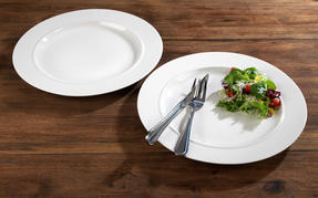Alessi La Bella Tavola Porcelain Dinner Plates, 27cm, Set of 2 Thumbnail 3