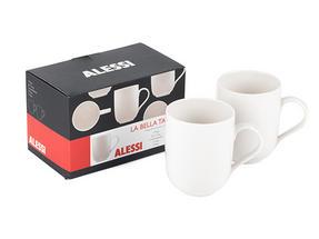 Alessi La Bella Tavola Porcelain Mugs, Set of 2 Thumbnail 3