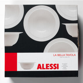 Alessi La Bella Tavola Porcelain Serving Bowl, 25.5cm Thumbnail 5