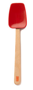 Berndes Wooden Spoon and Spatula Utensil Set with Removable Silicone Heads Thumbnail 4