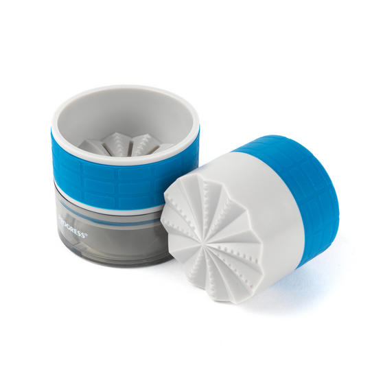 Progress Garlic Grinder, Blue