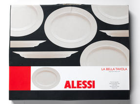 Alessi La Bella Tavola Porcelain Serving Platter, 36cm Thumbnail 5