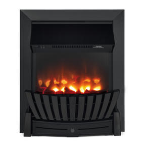 Beldray EH2350 Almada Inset and Free Standing Electric Fire, 2000 W, Black