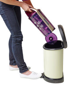 Hoover RE71VE20001 Velocity Bagless Cylinder Vacuum Cleaner, 2.5 Litre, 700 W, Purple and Champagne Thumbnail 7