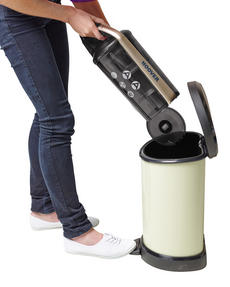 Hoover RE71VE25001 Velocity Bagless Cylinder Vacuum Cleaner, 2.5 Litre, 700 W, Black and Champagne Thumbnail 5