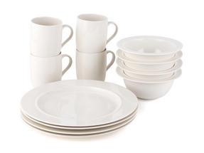 Alessi La Bella Tavola Porcelain 4-Place Setting Dining Set Thumbnail 2