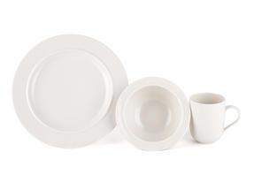 Alessi La Bella Tavola Porcelain 4-Place Setting Dining Set Thumbnail 5