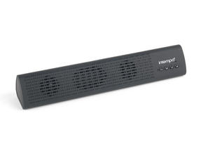 Intempo Mini Bluetooth Sound Bar, Black Thumbnail 2