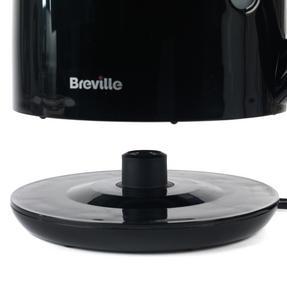 Breville Black 1.5 Litre Plastic Jug Kettle and Red 2 Slice Toaster Set Thumbnail 5
