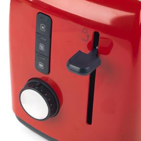 Breville Black 1.5 Litre Plastic Jug Kettle and Red 2 Slice Toaster Set Thumbnail 6