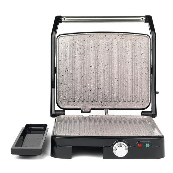 Salter XL Health Grill and Panini Maker with Non-Stick Marble Coating