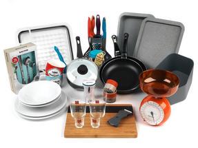 Student Box Cook, University Student 44-Piece Kitchen Set Thumbnail 1