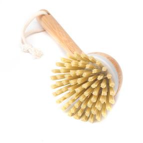 Beldray Natural Dish Brush, 22cm, Bamboo Thumbnail 3