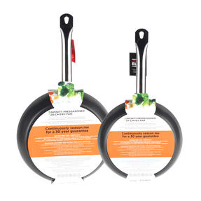 Russell Hobbs Infinity Set of 2 Frying Pans, 24/28cm, Black Thumbnail 5