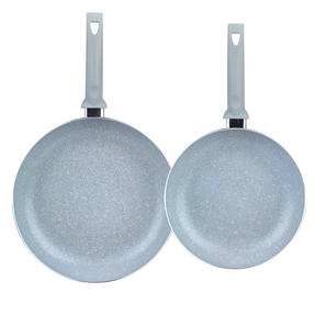 Russell Hobbs Stone Collection Set of 2 Frying Pans, 24/28cm, Daybreak Thumbnail 2