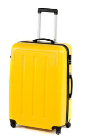 "Constellation Galloway ABS Suitcase, 28"", Yellow Thumbnail 1"